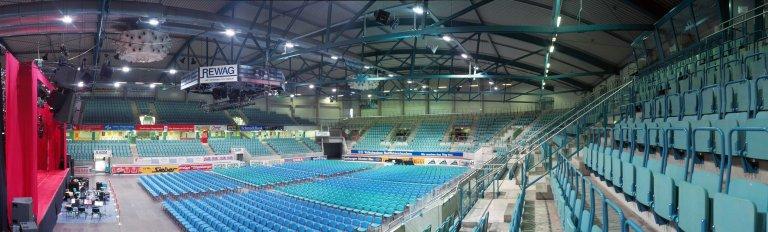 Donau-Arena Innenansicht