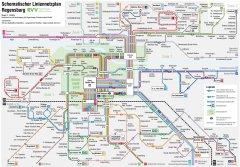 Maps Regensburger Verkehrsverbund - Regensburg map