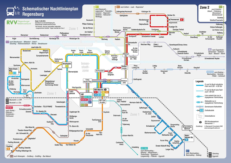 Grossansicht in neuem Fenster: Nachtliniennetzplan