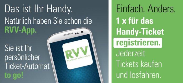 Ein Mal registrieren und dann jederzeit Handy-Tickets kaufen und losfahren.