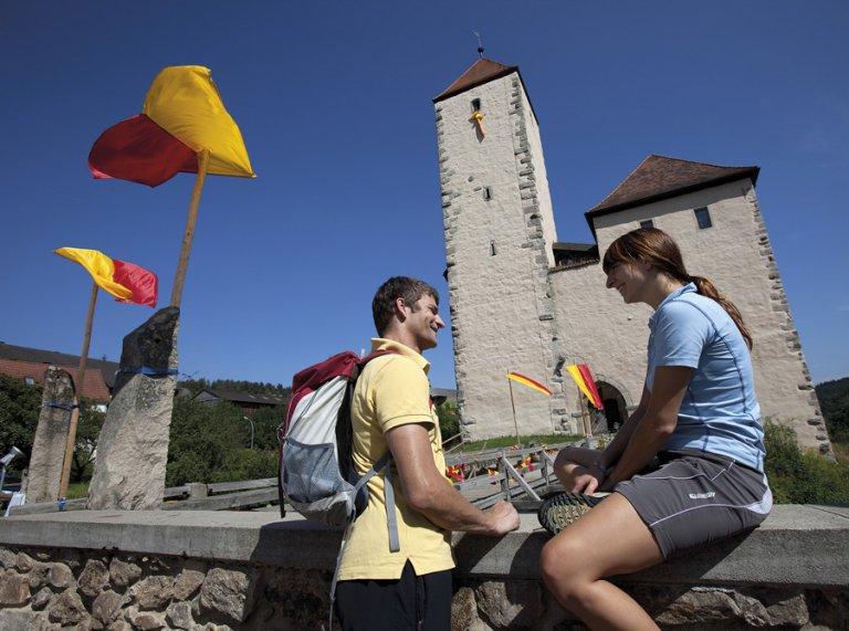 Goldsteig Burg Trausnitz