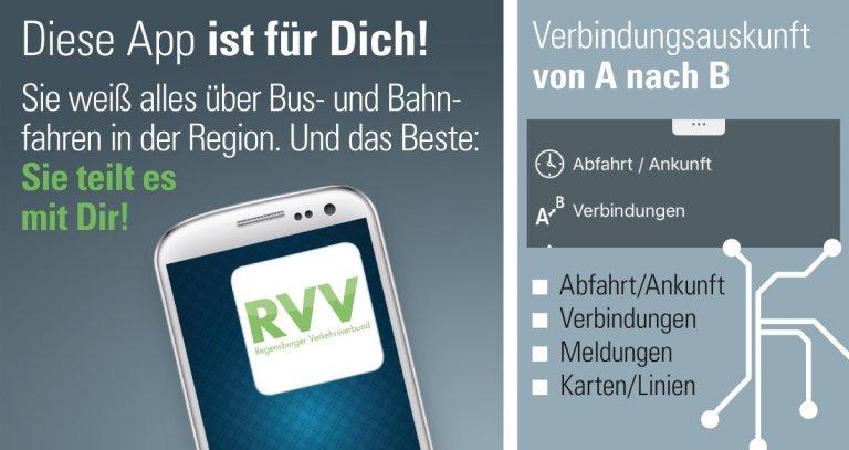 Die App weiß alles über Bus- und Bahnfahren, inkl. Fußweg zur Haltestelle, Pünktlichkeit, Preise, P+R.