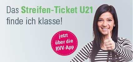 Streifen-Ticket U21