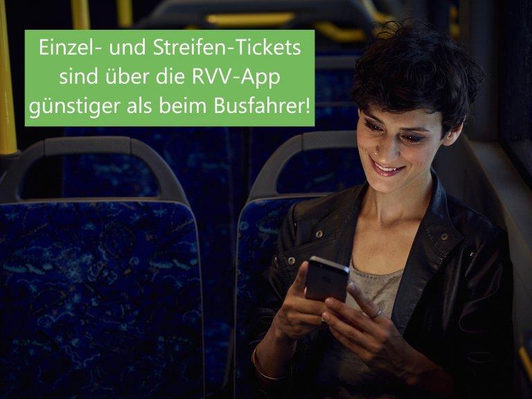 Handy-Ticket günstiger als im Busverkauf
