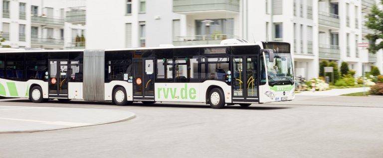 RVV-Bus Seitenansicht