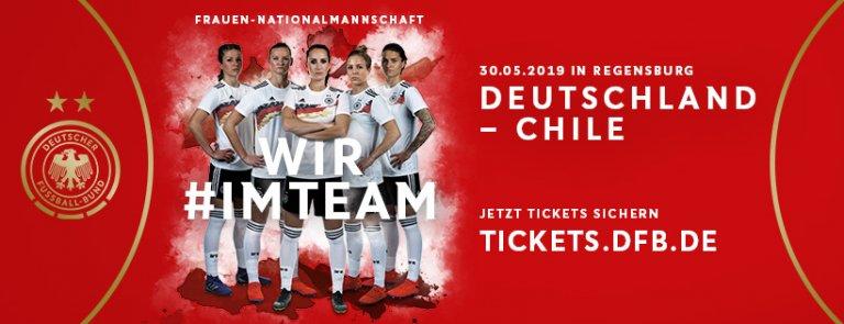 Grafik Frauen-Länderspiel DEU - Chile