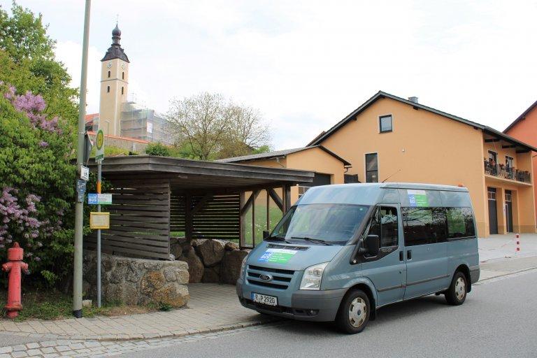 Rufbus Linie 900 in Brennberg