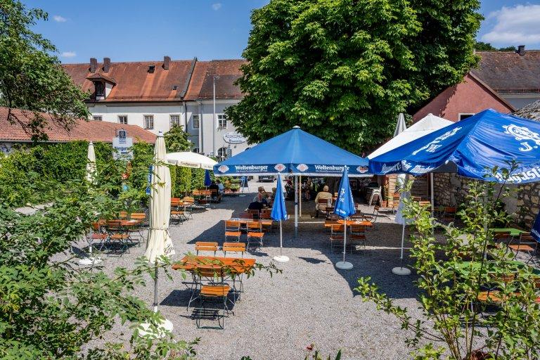 Klosterwirtschaft Pielenhofen Biergarten