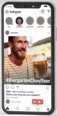 Handy BiergartenChauffeur Screen1