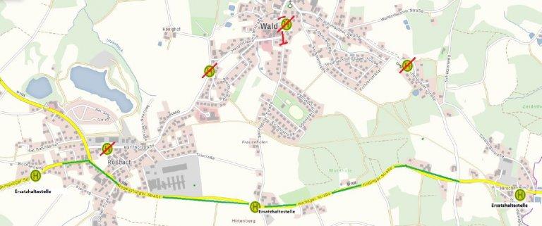 210527 Karte Uml Linie 34 Wald