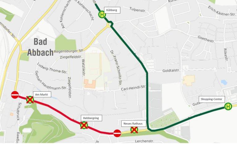 210525_Karte Uml Bad Abbach Römerstr