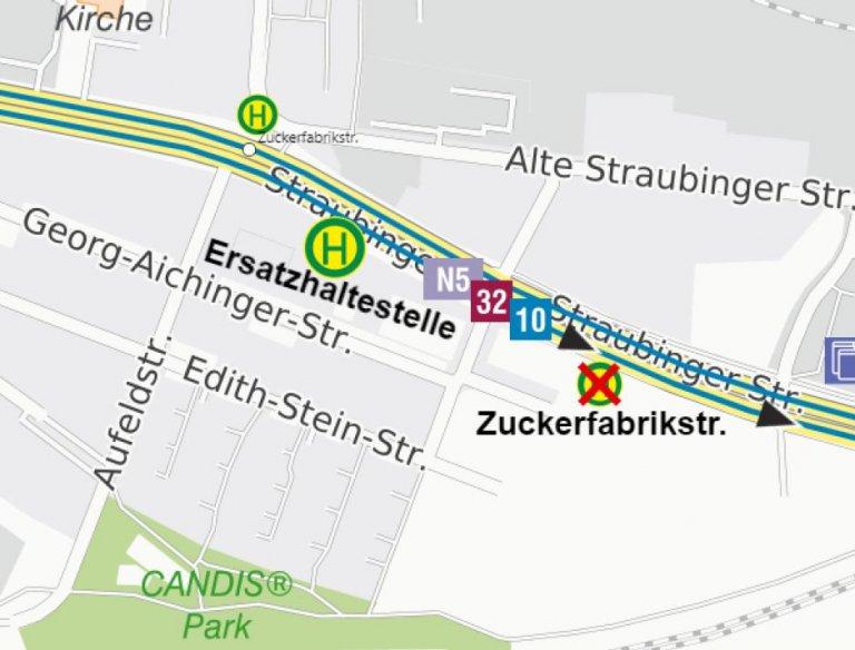 210906 Karte Verlegung HS Zuckerfabrikstr