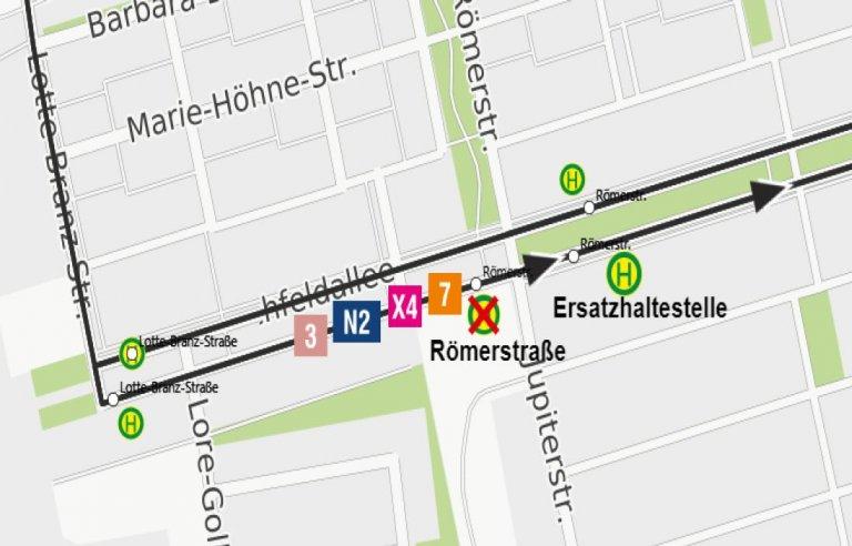 210913 Verlegung HS Römerstr