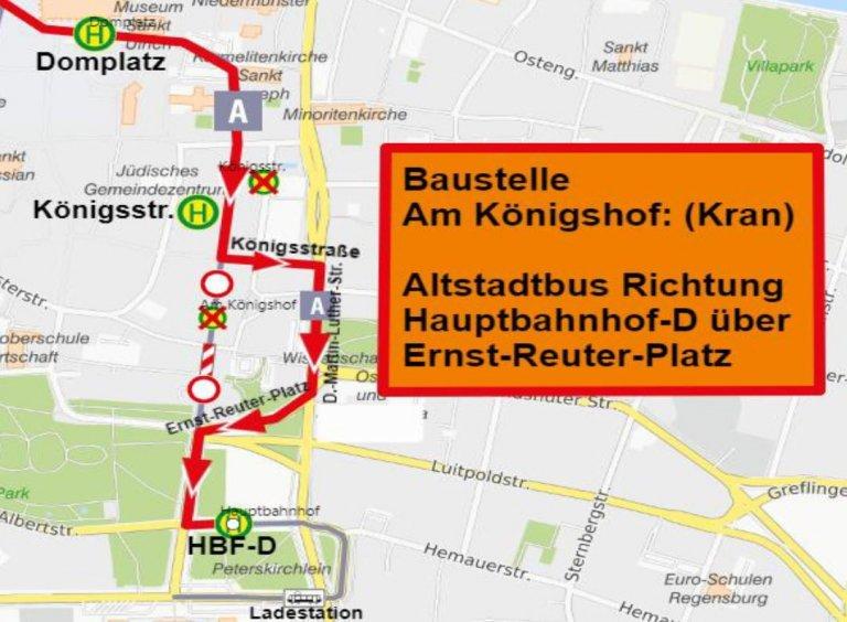 210915 Karte Uml Linie A Ri HBF